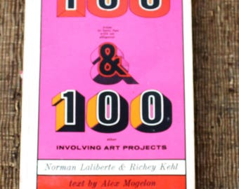 100 ways to have fun with an alligator & 100 other involving art projects art book 1969