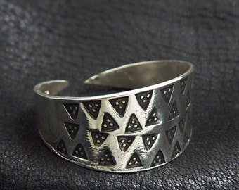 Silver Prussian ring