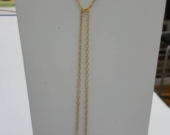 Genuine freshwater 2 Biwa pearls pendant with chain necklace
