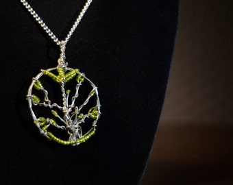 Wire Tree Necklace