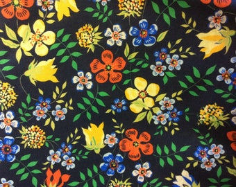 Tana lawn fabric from Liberty of London, Edenham