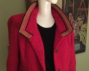 Fabulous Vintage 60s Jackie O Style Jacket