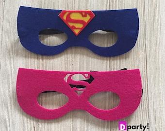 Girls superhero mask | Etsy