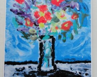 Dandy Card Membership  12 art cards yearly  Floral designs