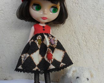 BLYTHE DOLL  SET --  Dress and Lace  stockings  --