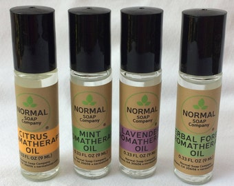 Aromatherapy Oils with Pure Essential Oils