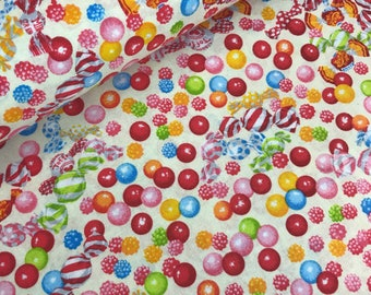 Yellow Candy Gumballs Allover from the Candy Shop Collection by Lecien Fabrics, Candy Quilt, I Spy Quilt, Gumball