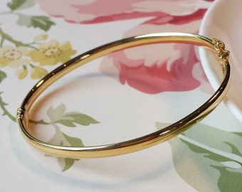 file bracelet gold black rose enamel wrist victorian with small oval hinged pattern product bangles of page light fits viauestatejewelry bangle fine