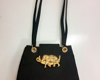 Elephant Purse Vintage One of a Kind