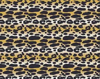 Indigo & Aster - Animalia Exotica Sand - Bari J. - Art Gallery Fabrics - Fabric By the Half Yard