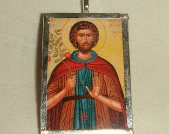 St Euphrosynus the Cook Pendant  inv1976