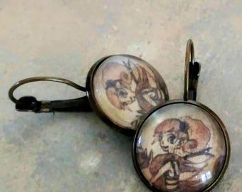 Earrings 'Fairy'
