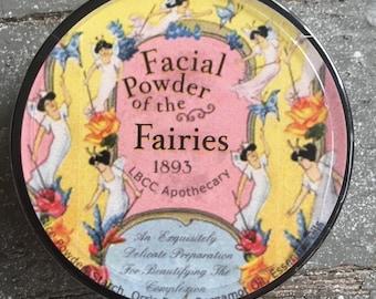 Facial Powder Of The Fairies - 1893 Face Powder Translucent Face Powder Natural Oil Control Victorian Face Powder Victorian Makeup Natural