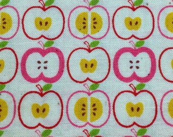 Apple fabric Japanese cotton fabric