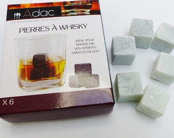 6 stones whisky whiskey bourbon father's day gift men cooler