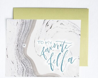 Favorite Fella Card