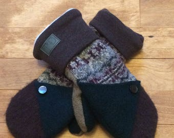 Mitten Collection hot Gaia wool recycled