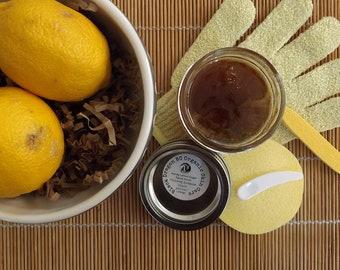 Honey/Lemon Sugar Scrub