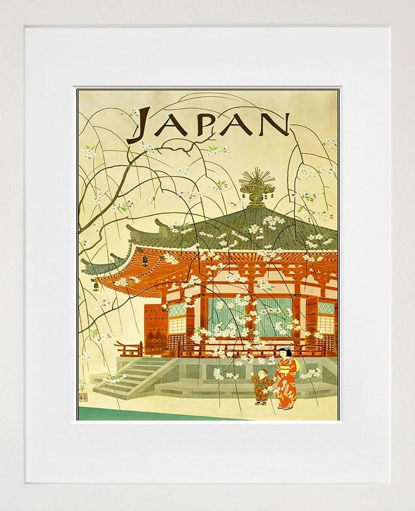 Japanese Wall Art Japan Print Travel Poster Home Decor ZT671