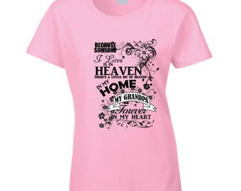 Heaven In My Home Black T Shirt