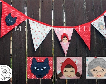 Red Riding Hood Bunting