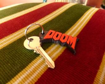Doom keychain