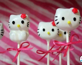 Hello Kitty Gourmet Cake Pops
