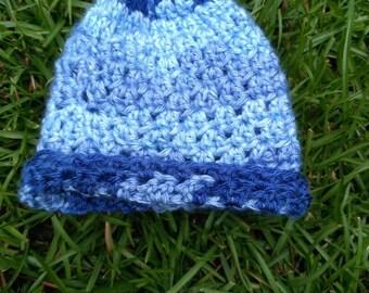 Crochet tiny newborn Baby hat
