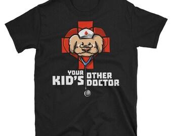 Your Other Kid's Doctor - veterinarians veterinarian veterinary veterinarians gift gifts office tshirt shirts gifts shirt t shirt t-shirt ts