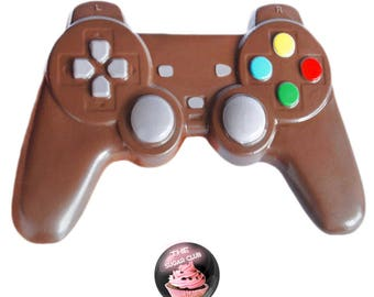 Gamer gifts etsy more colors chocolate video game controller gamer gift negle Images