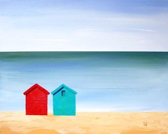 Two Huts 2 - Seaside in Summer