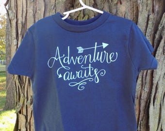 Adventure Awaits Youth Shirt