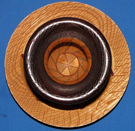 Segmented Woodturning 94-6 Unique Design