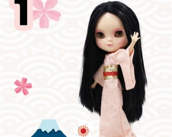 Icy doll look a like blythe doll / icy doll full body / icy doll joint body