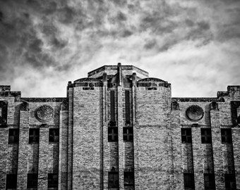 Fort Worth, Texas, Building, Architecture, Art Deco, Railroad - Texas and Pacific Warehouse