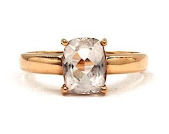 10K Rose Gold Tourmaline Ring (1488)