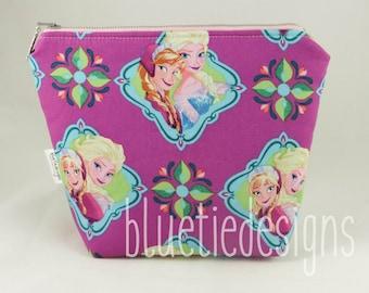 Frozen Elsa Anna Makeup Bag