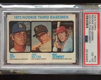 1973 Mike Schmidt Rookie Card - Excellent Condition