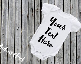 Personalized onesie etsy custom baby onesie personalized onesie create your own onesie quotes and designs negle Image collections
