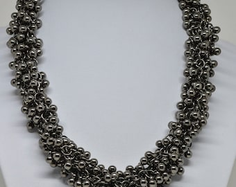 Charming Multi Strand Beaded Necklace