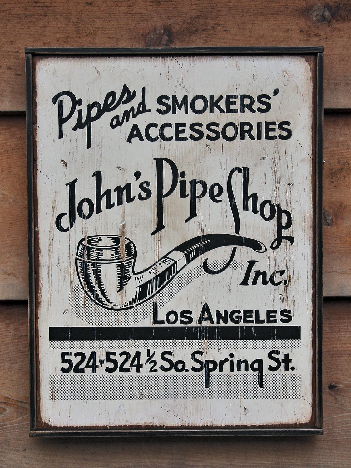 Vintage Wooden Signs Reproductions