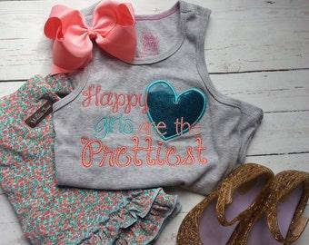 Happy girls are the Prettiest - m2m - Matilda Jane shorties
