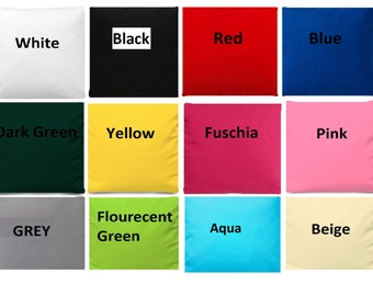 """Pure 100% Cotton fabric solid colour width 60"""""""