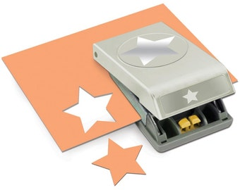 STAR Large 2.5' Slim Profile Paper Punch by EK Success