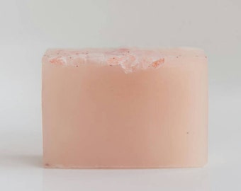 heal | face + body | organic | ultra healing facial cleanser | soap | sensitive skin | himalayan sea salt Infused