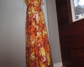 Sale! Floor Length Hawaiian  Dress Muumuu