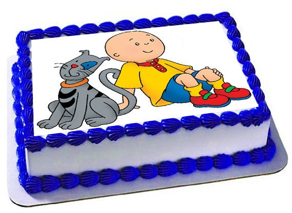 Caillou Edible Cake Topper Caillou edible images Frosting