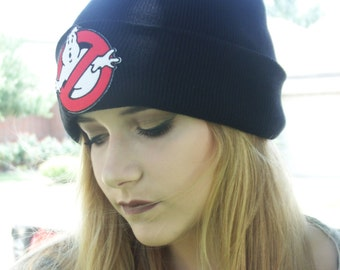 Ghostbusters inspired beanie