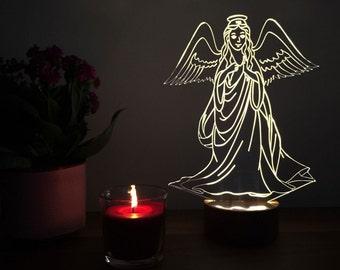 3D Angel Lamp