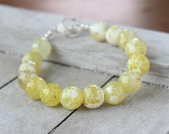 Her Yellow Bracelet
